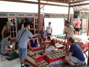 Gamelan is traditional music in Yogyakarta